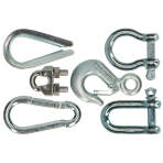 Clamps and shackles