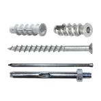 Aerated concrete fixings