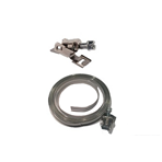 Hose clamp on strip